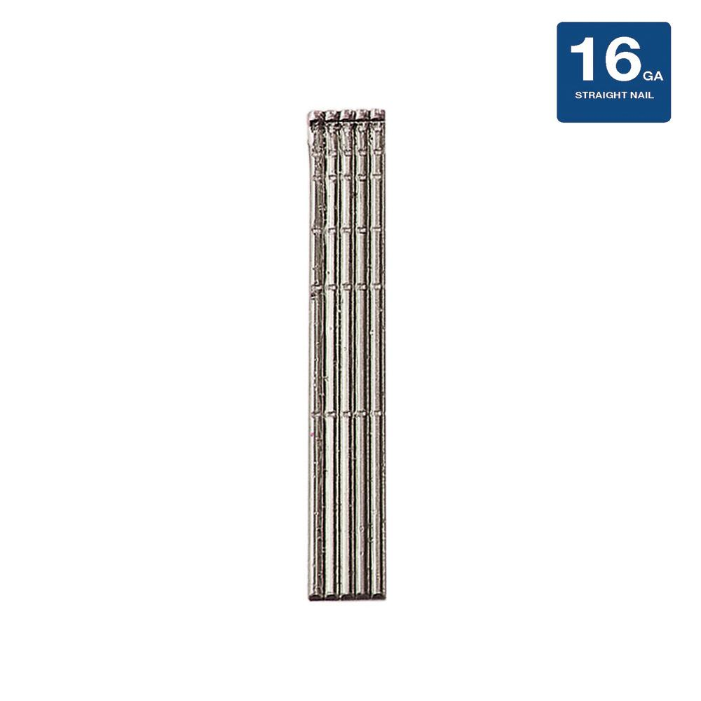 2-1/2 in. 16-Gauge Stainless Steel Collated Nail Brand