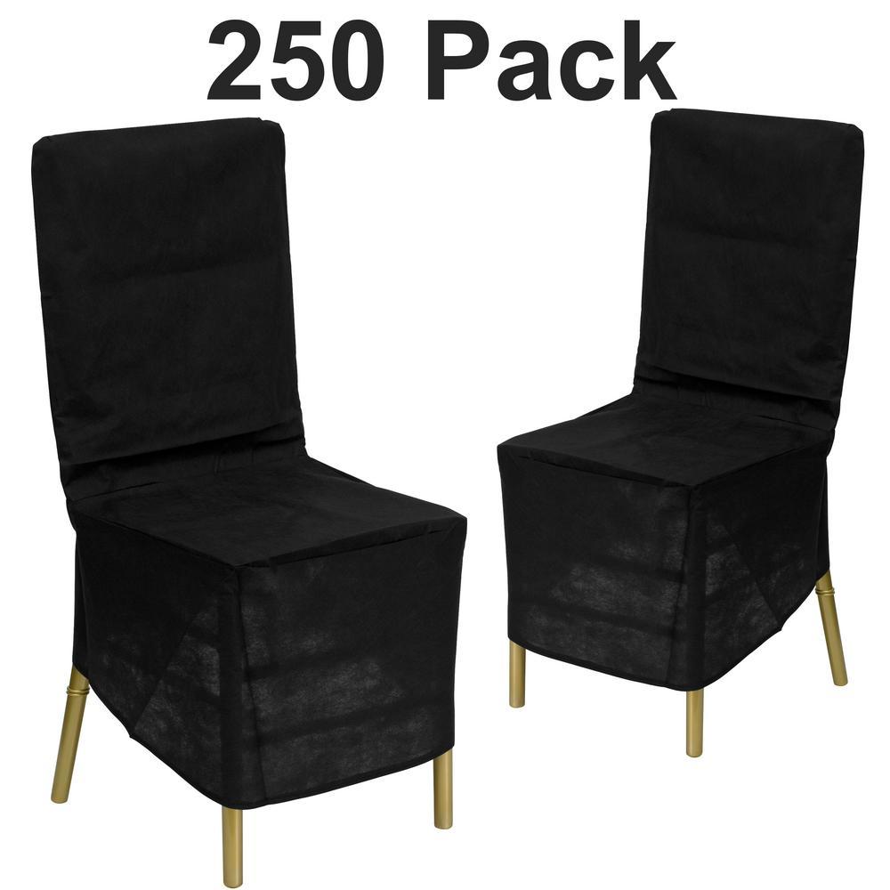Black Chiavari Chair Cover (Set of 250)