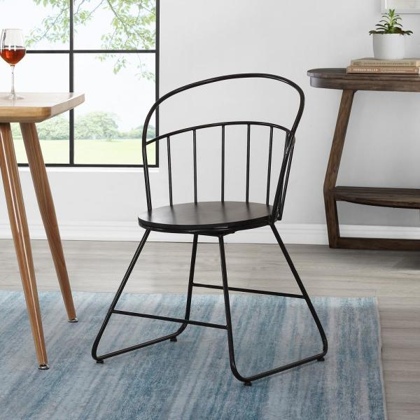 30.5 in. Morissey Wireframe Chair