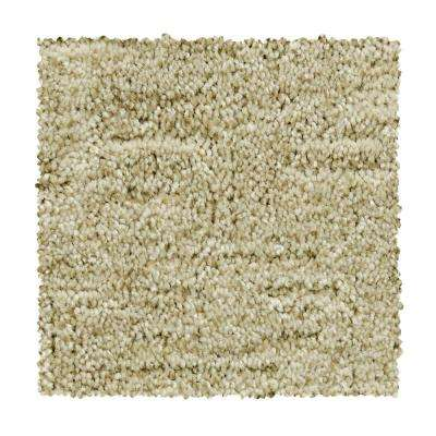8 in. x 8 in. Pattern Carpet Sample - Corry Sound - Color French Fudge