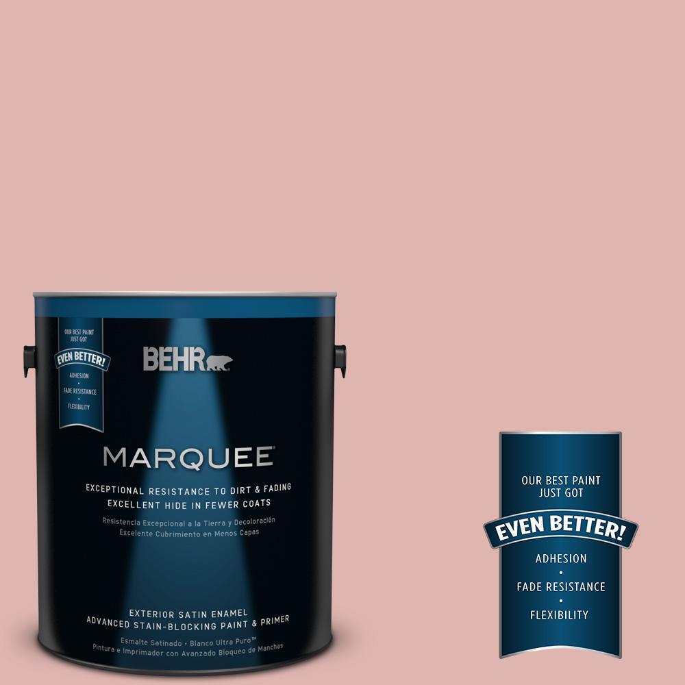 BEHR MARQUEE 1-gal. #S160-2 Pink Quartz Satin Enamel Exterior Paint