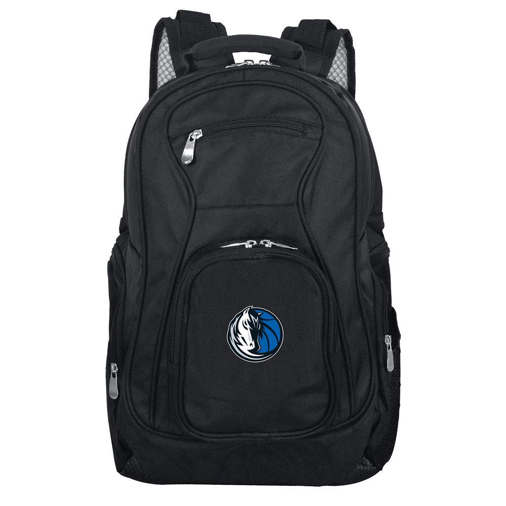 NBA Dallas Mavericks Black Backpack Laptop