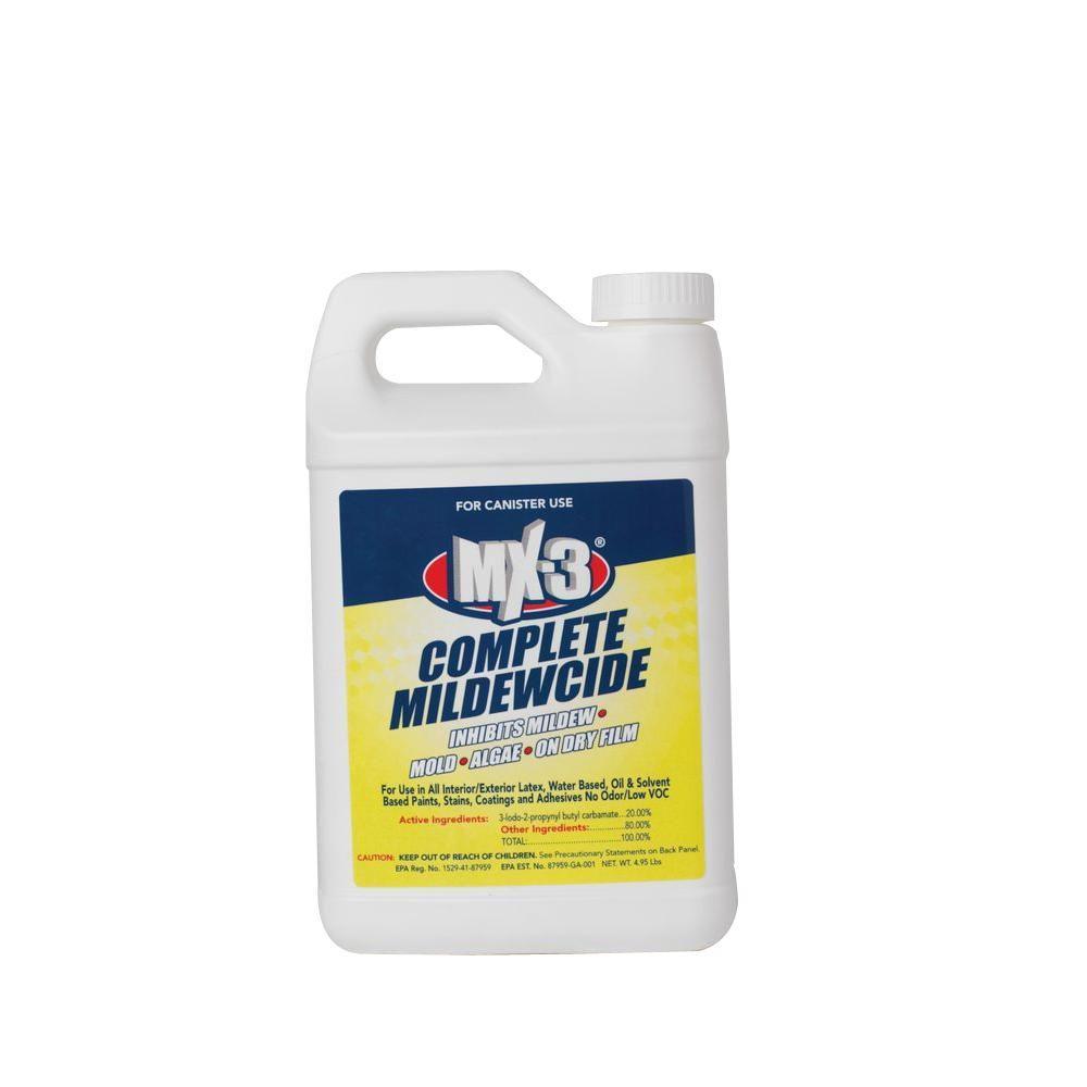 MX-3 4.95 lbs. Zero VOC Liquid Canister Complete Mildewcide (treats 52-gal.)