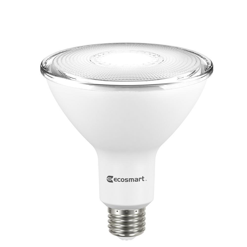Ecosmart 90w Equivalent Bright White Par38 Non Dimmable