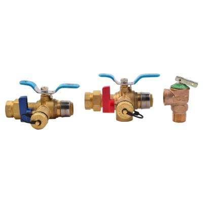 3/4 in. Tankless Water Heater Valves Installation Kit