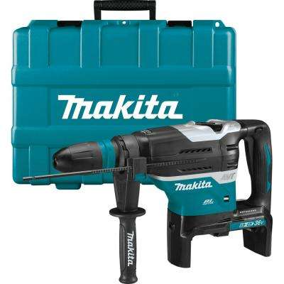 Makita 18-Volt X2 LXT Lithium-Ion (36-Volt) Cordless 1-9/16 in. Rotary Hammer, accepts SDS-MAX bits, with AWS(Tool Only)