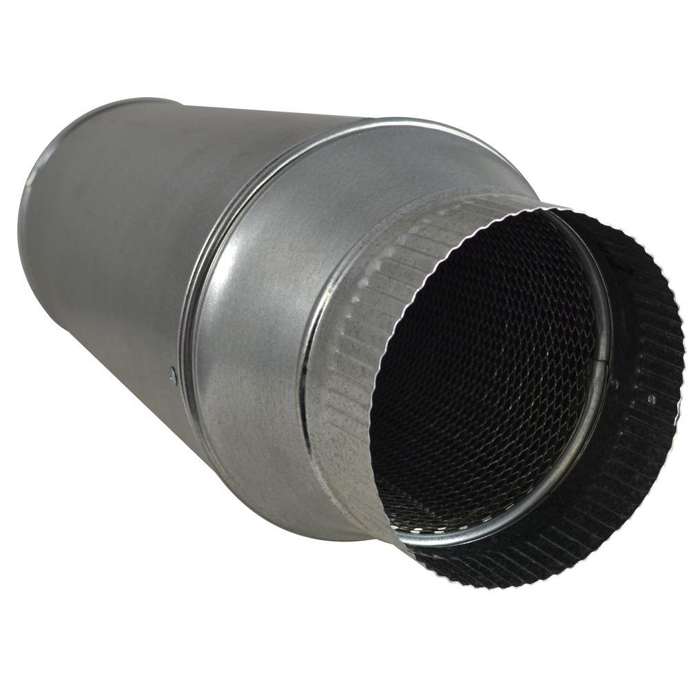 Suncourt 6 In In Line Duct Muffler Dm106 The Home Depot