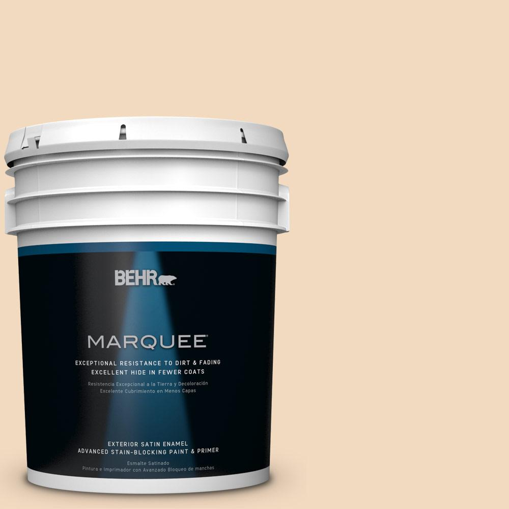 5-gal. #S270-1 Frosted Toffee Satin Enamel Exterior Paint