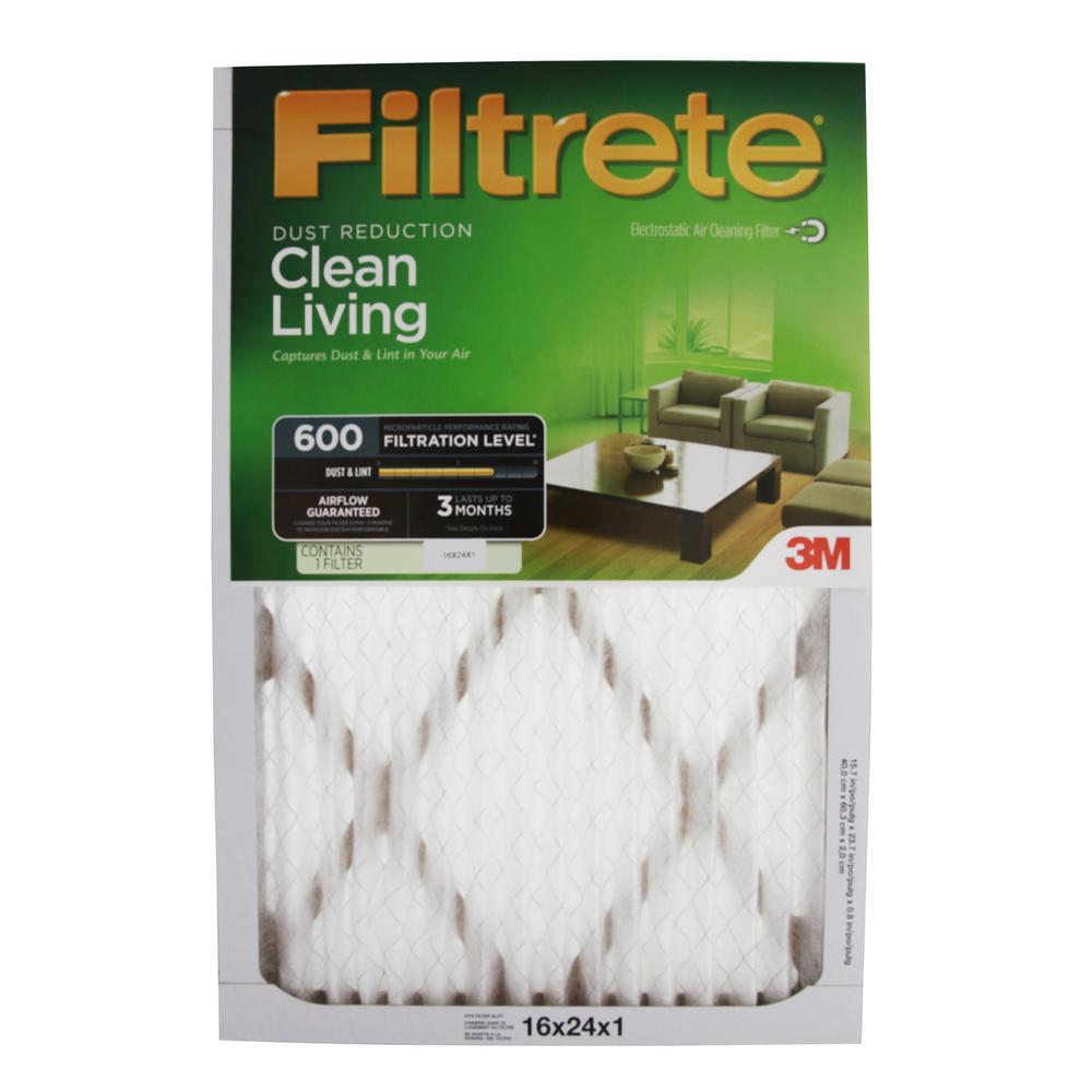 16 in. x 24 in. x 1 in. Filtrete Ultra Allergen FPR 7 Air Filter