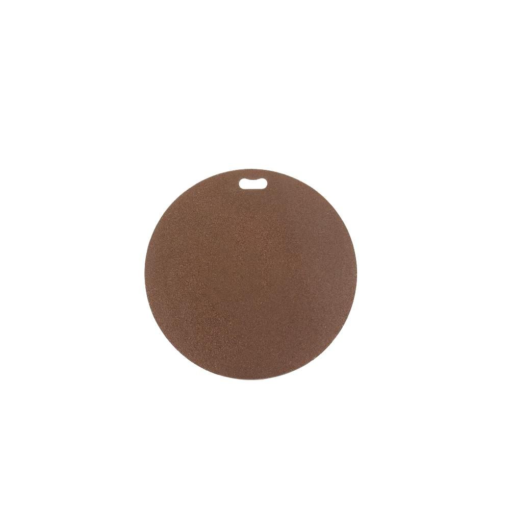 30 in. Round Earthtone Brown Deck Protector