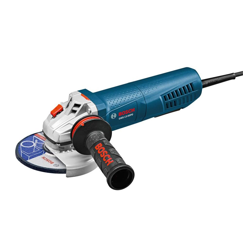 Bosch 13 Amp Corded 6 in. High-Performance Angle Grinder with No-Lock-On Paddle Switch