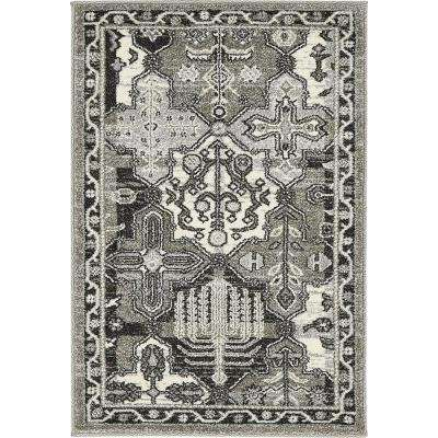 La Jolla Cathedral Gray 2' 2 x 3' 0 Area Rug