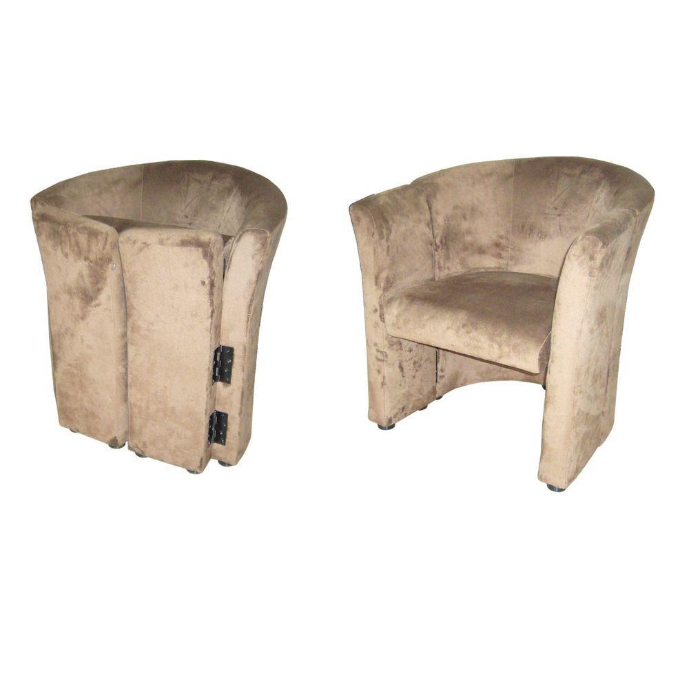 Beige Folding Chair