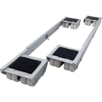 18-1/4 - 28 in. Aluminum Steel Appliance Rollers (2-Pack)
