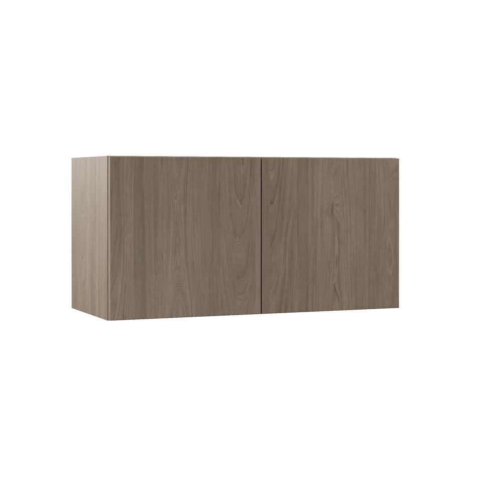 Hampton Bay Designer Series Edgeley Assembled 36x18x15 In Deep Wall