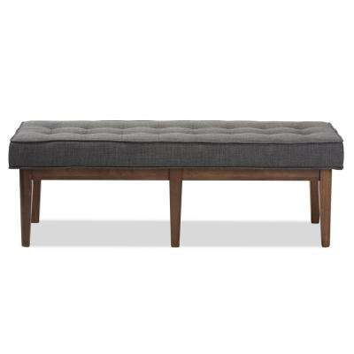 Lucca Dark Gray Bench