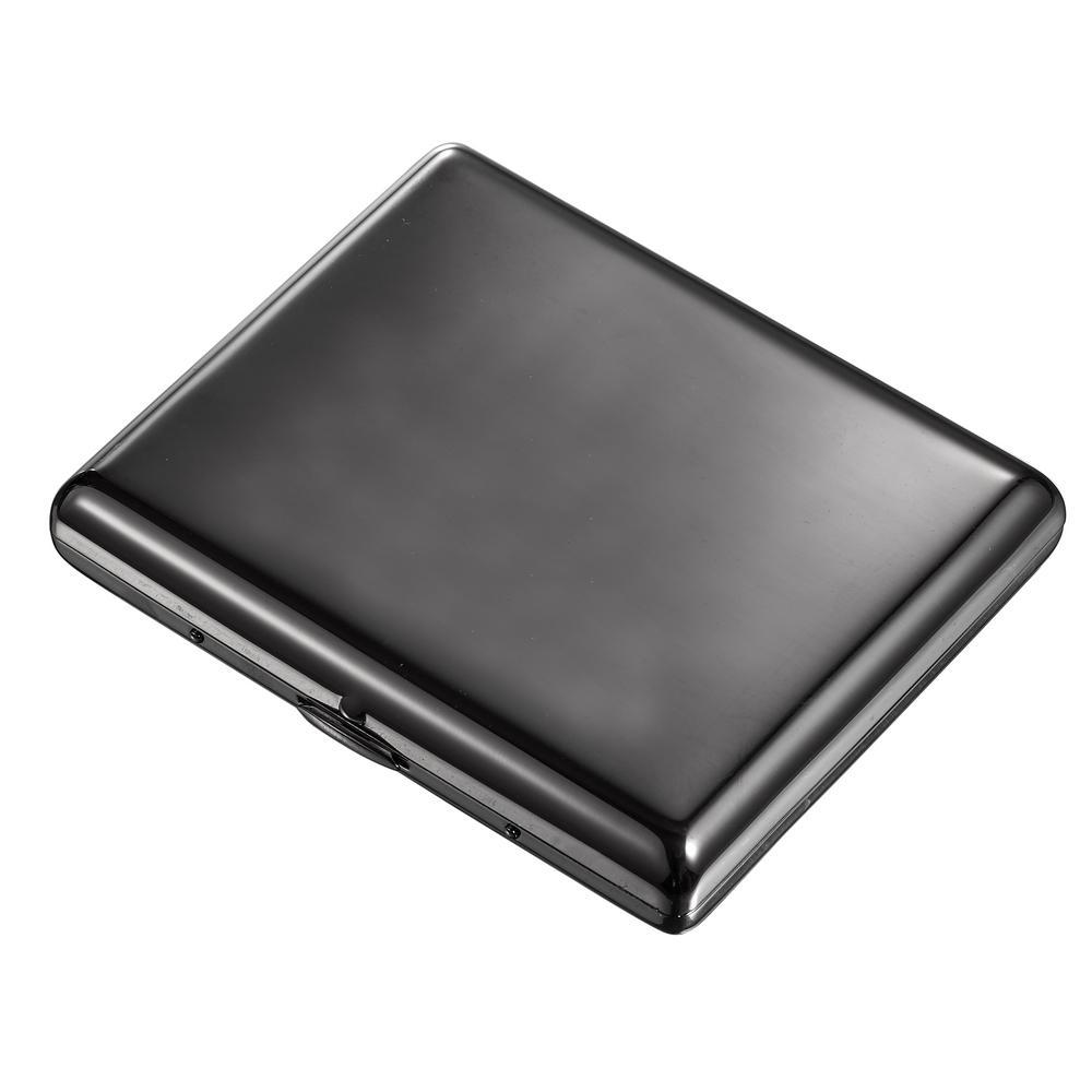 Simone Gun Metal Cigarette Case