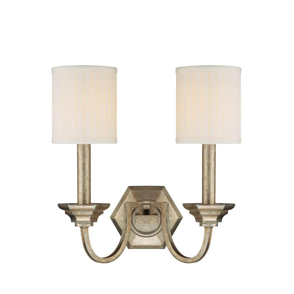 Filament Design 2-Light Winter Gold Sconce