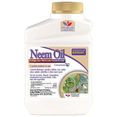 16 oz. Neem Oil Fungicide, Miticide and Insecticide Concentrate