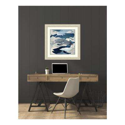 34.50 in. W x 34.50 in. H Whale Watching I by Edward Selkirk Printed Framed Wall Art