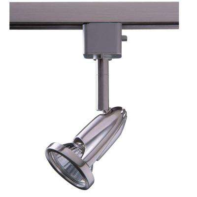 Series 8 Line-Voltage GU-10 Satin Nickel Track Lighting Fixture