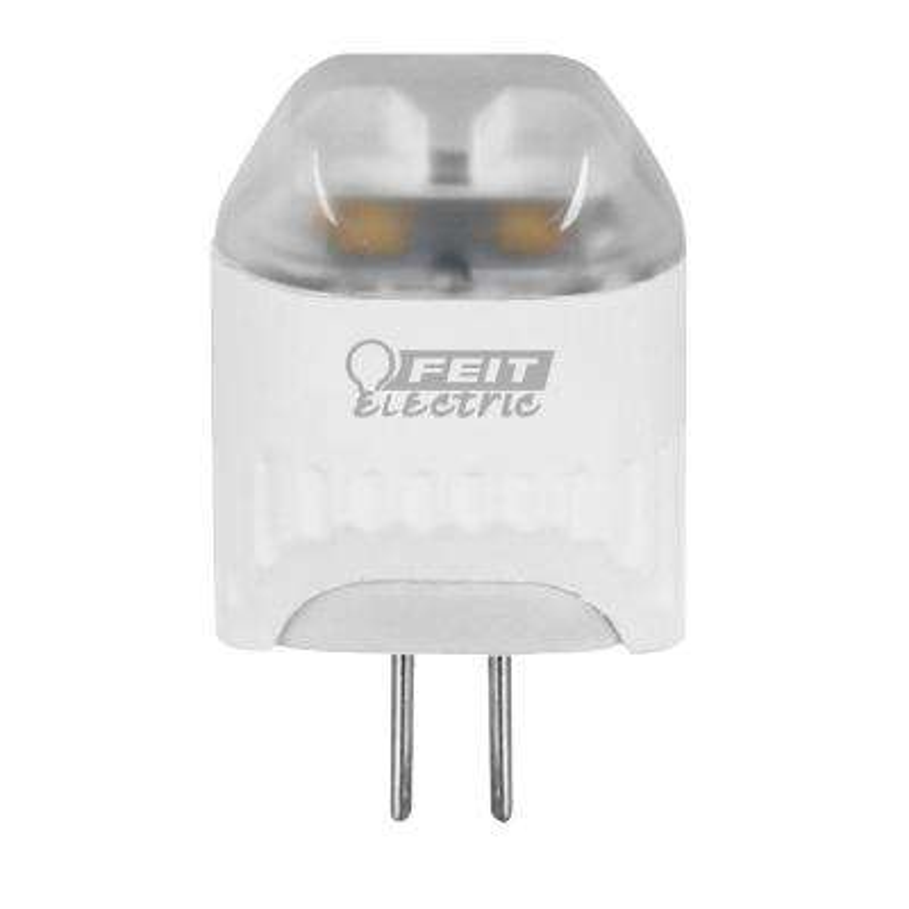 10W Equivalent Warm White (3000K) Wedge LED G4 2-Pin Base 12-Volt Landscape Garden Light Bulb