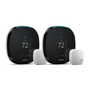 Deals on Ecobee 4 7-Day Smart Thermostat Value Bundle