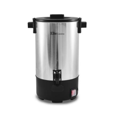 30-Cup Stainless Steel Coffee Urn with Removable Filter