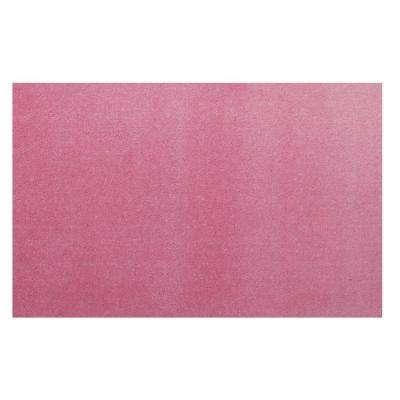 Kids Pink 51 in. x 78 in. Area Rug