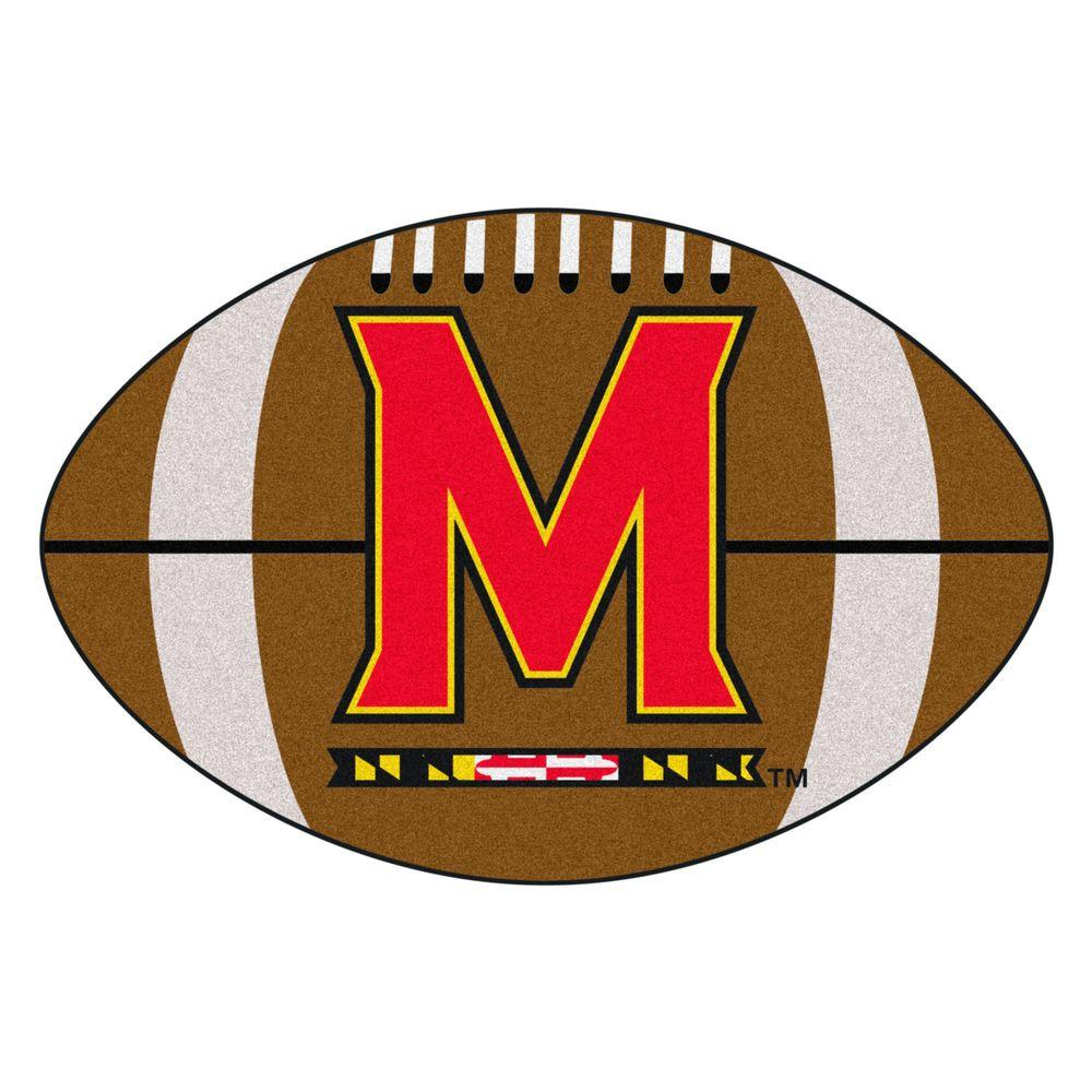 Fanmats Ncaa University Of Maryland Brown 1 Ft 10 In X 2