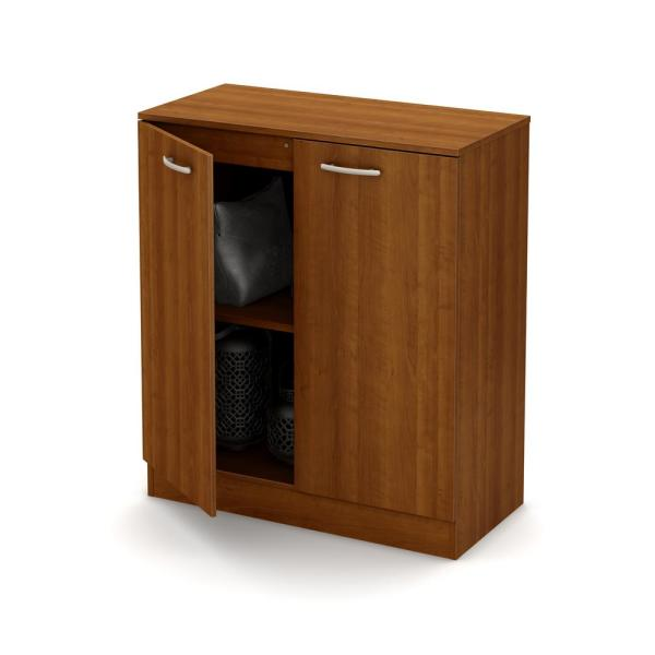 South Shore Axess Morgan Cherry Storage Cabinet 10191