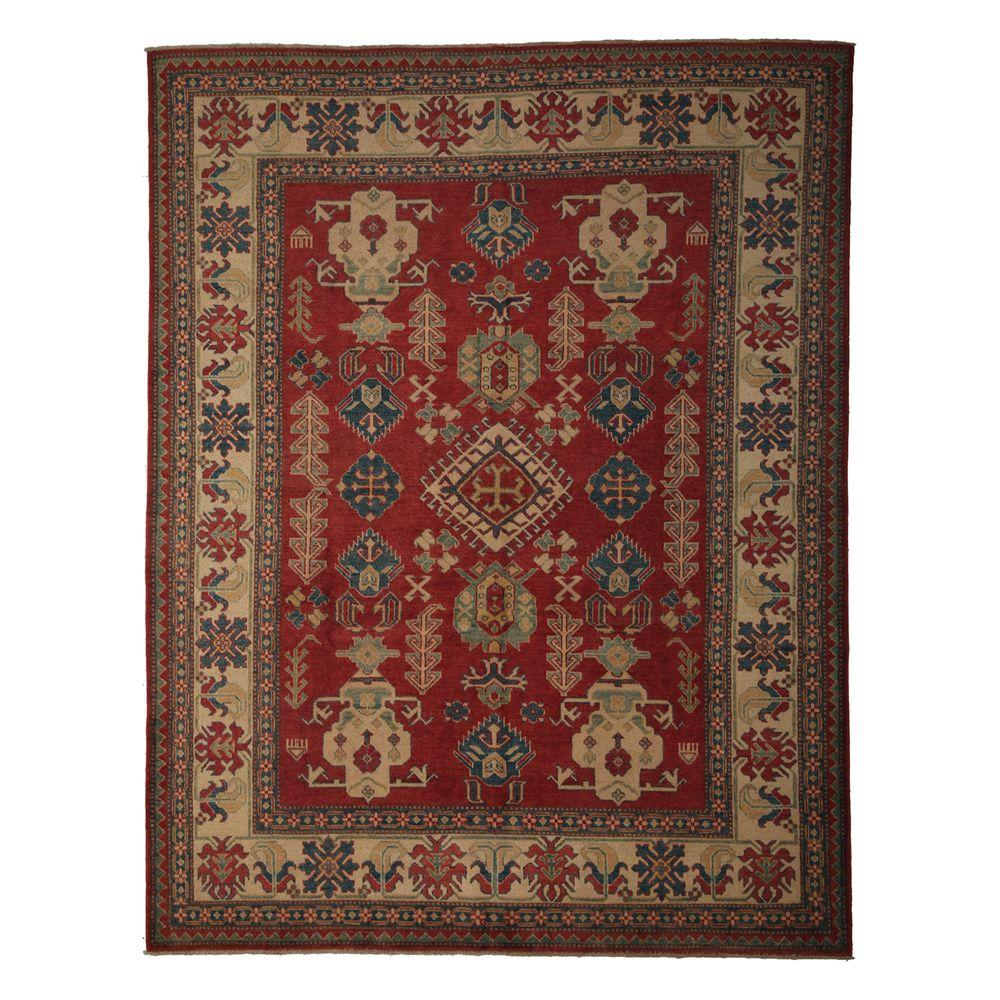 Darya Rugs Kazak Red 7 ft. 3 in. x 9 ft. 5 in. Indoor Area Rug