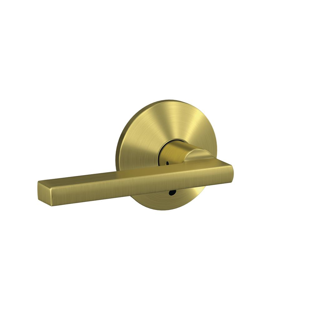 Schlage Custom Latitude Satin Brass Kinsler Trim Combined