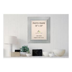 Amanti Art Romano 16 In X 20 In Silver Picture Frame Dsw1385385