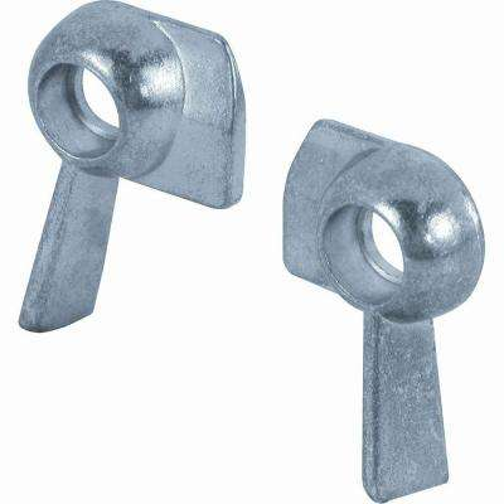 Left and Right Sliding Window Sash Locks (2-Pack)
