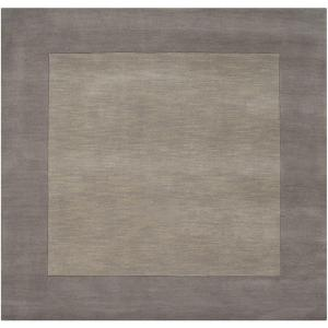 Click here to buy Artistic Weavers Foxcroft Gray 8 ft. x 8 ft. Square Indoor Area Rug by Artistic Weavers.