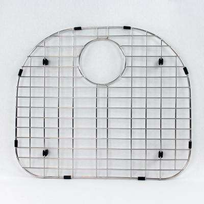 19.09 in. D x 16.45 in. W Sink Grid for Transolid MUSB24219 in Stainless Steel