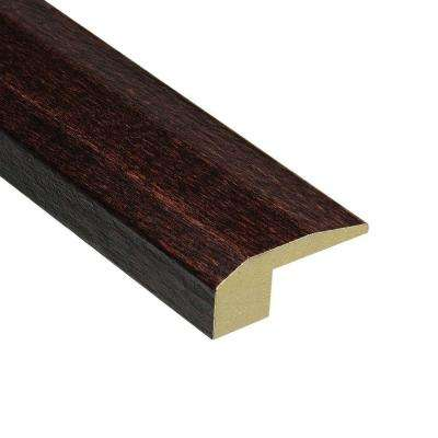 Elm Walnut 3/4 in. Thick x 2-1/8 in. Wide x 78 in. Length Hardwood Carpet Reducer Molding