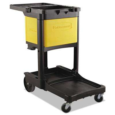 Locking Janitor Cart Cabinet for FG6173-88 Cleaning Cart