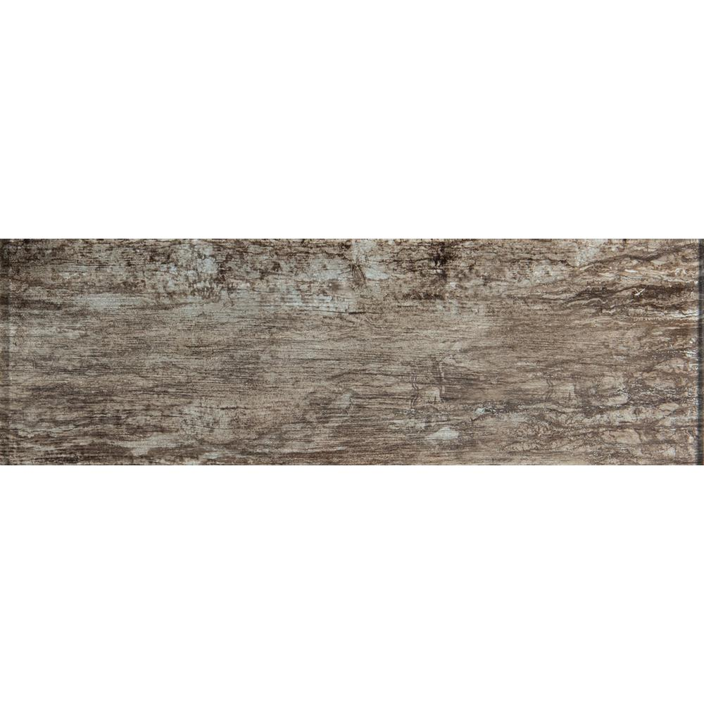 Antico Pewter 4 In X 12 Gl Wall Tile 2 Sq