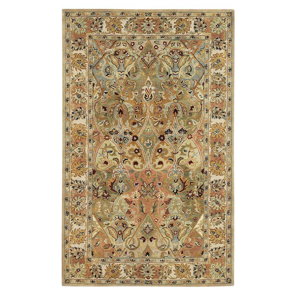 Home Decorators Collection Rhodes Tan 2 ft. x 3 ft. Area Rug
