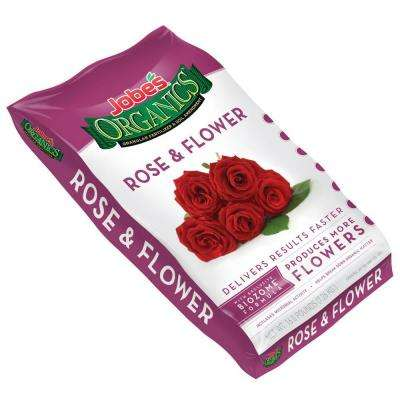 Organic 16 lb. Granular Rose and Flower Fertilizer