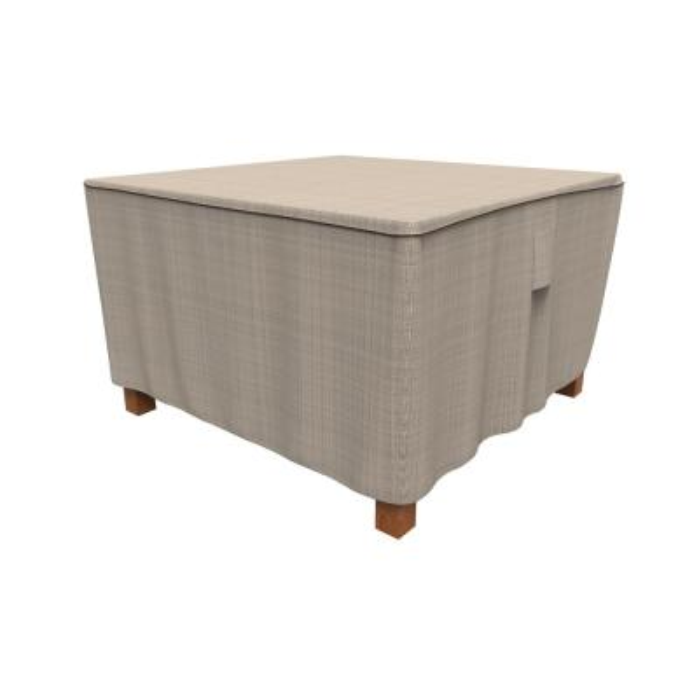 Rust-Oleum NeverWet Mojave Medium Black Ivory Square Patio Table Cover