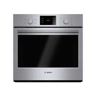 500 Series 30 in. Single Electric Wall Oven Self Cleaning in Stainless Steel