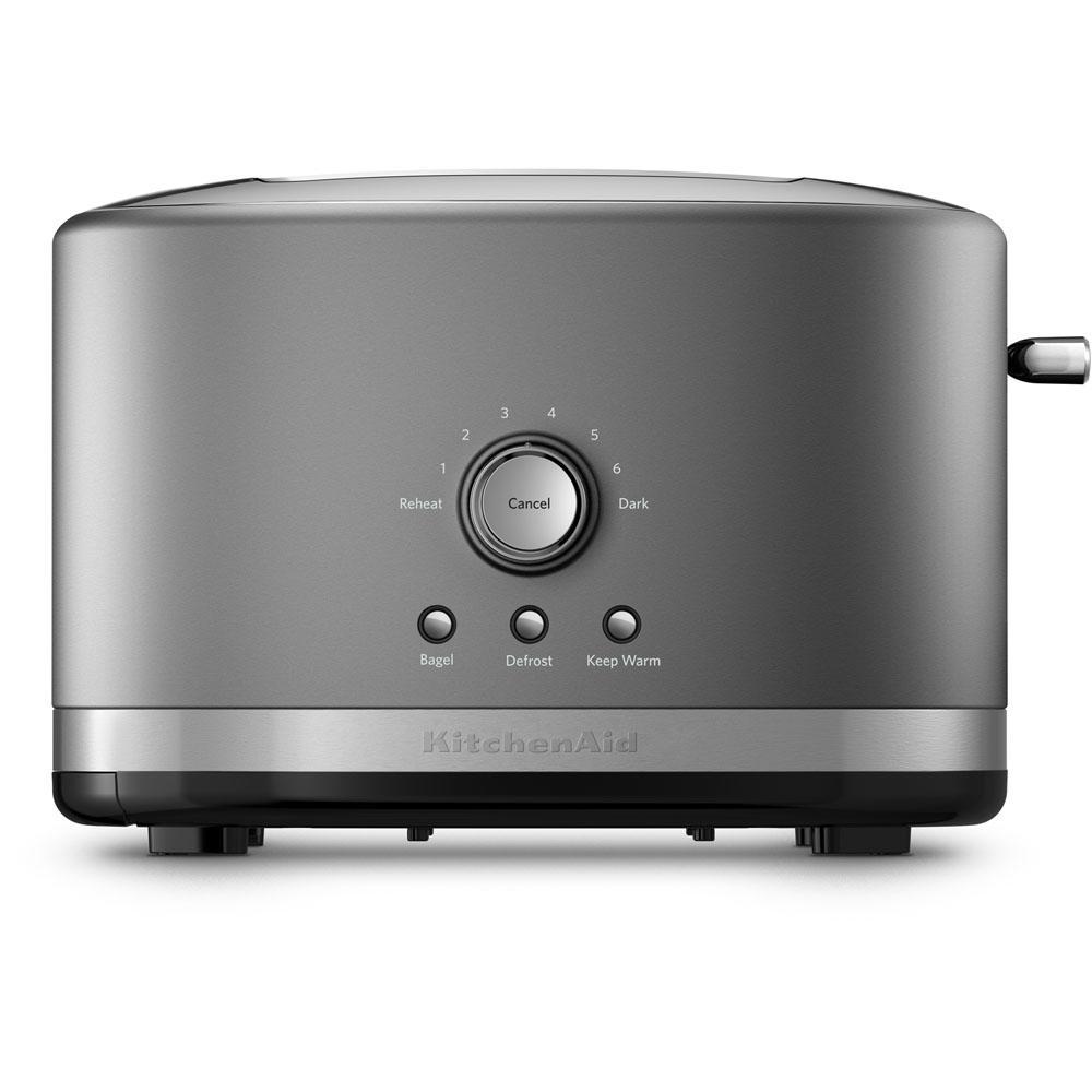 2-Slice Contour Silver Toaster