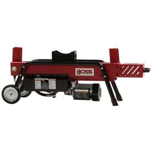 Click here to buy Boss Industrial 8-Ton 14 Amp Electric Log Splitter by Boss Industrial.