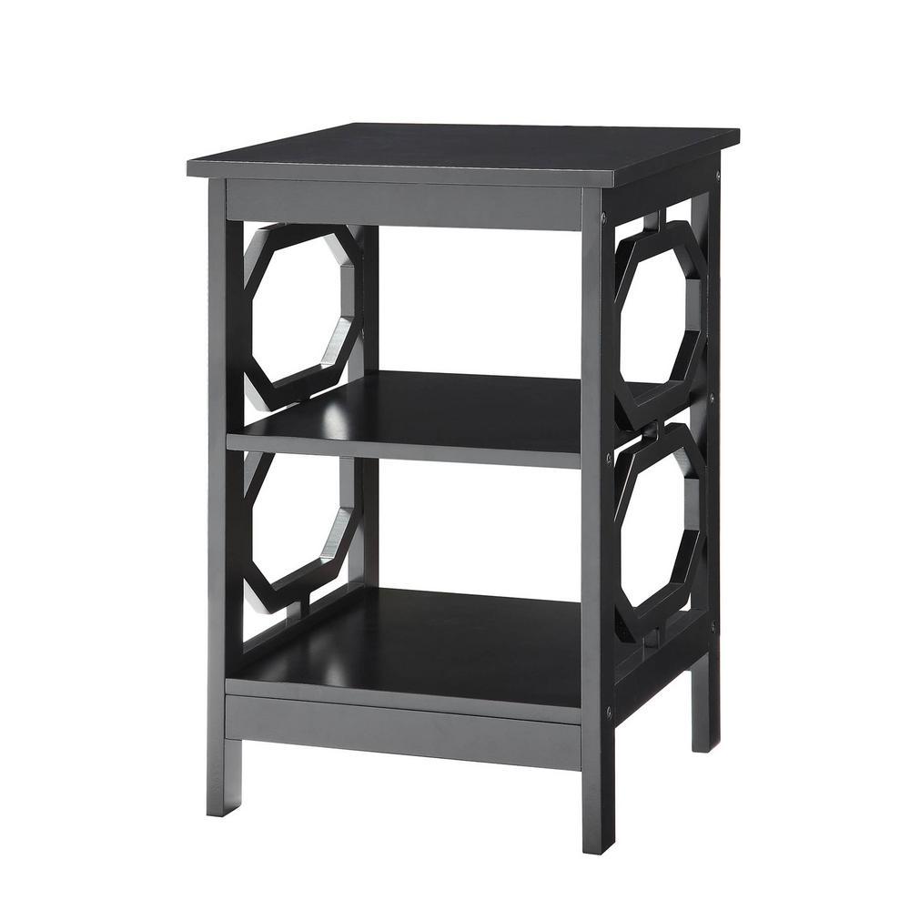 Omega Black End Table