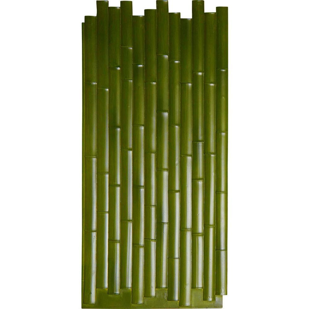 5/8 in. x 24-3/8 in. x 53-7/8 in. Green Urethane Bamboo