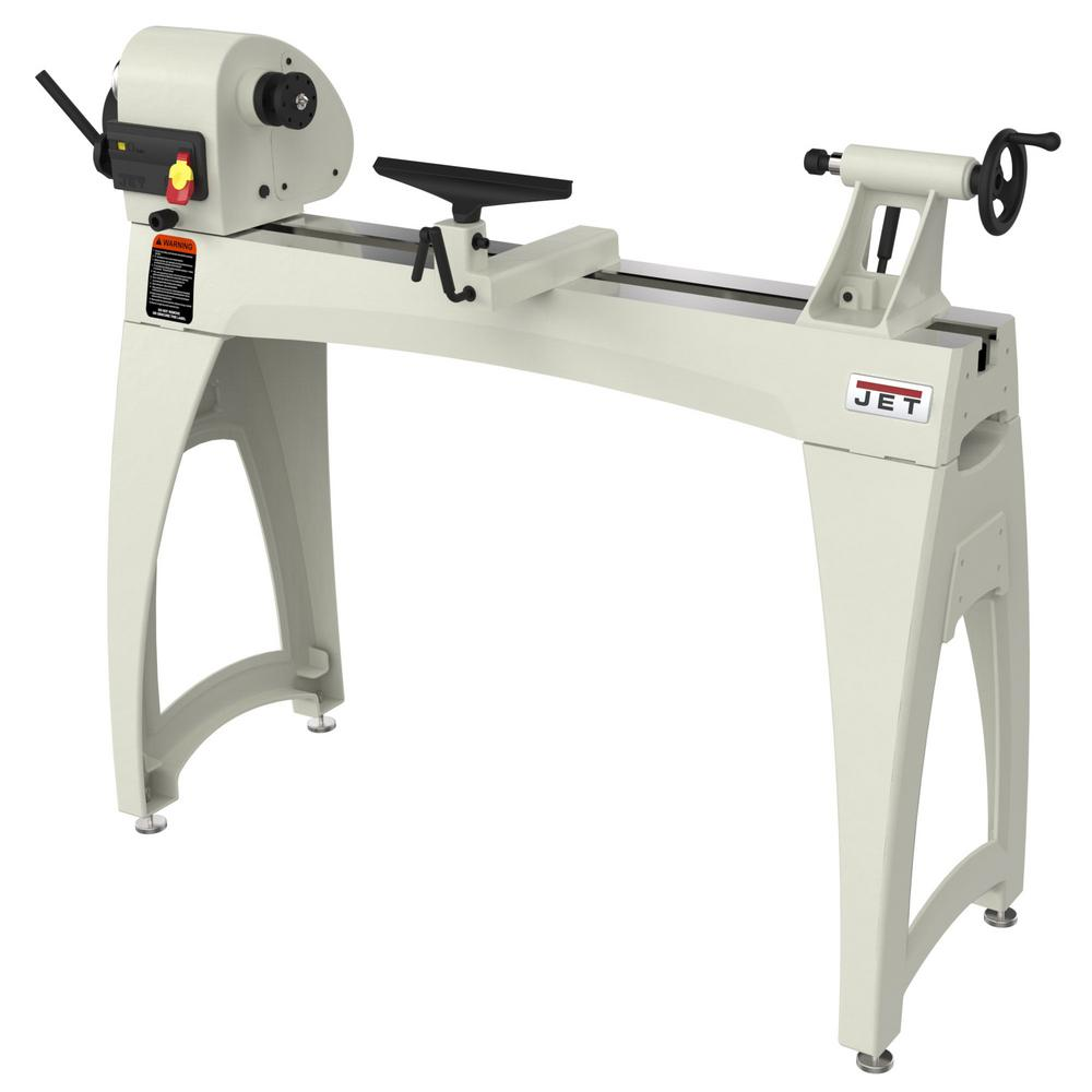Wen 8 In X 12 In Variable Speed Benchtop Wood Lathe 3420