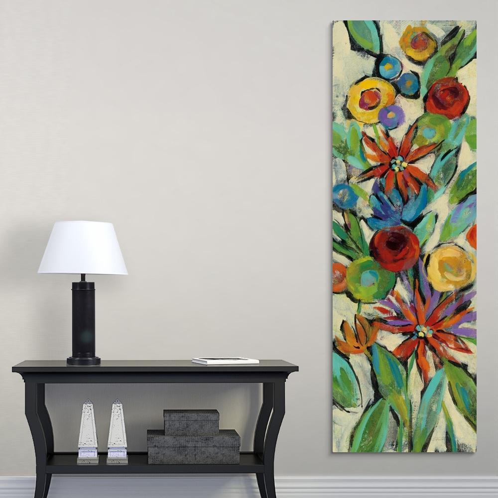 """Confetti Floral III"" by Silvia Vassileva Canvas Wall Art"
